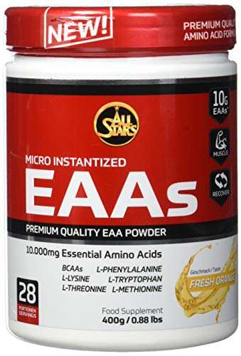All Stars EAA Powder, Fresh Orange, 1er Pack (1 x 400 g)