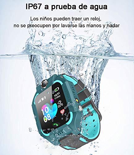 Palazen Reloj Inteligente Niño niña IP67, LBS, Hacer Llamada, Chat de