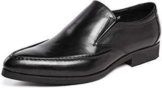 [ONE MAX] ローファー メンズ 本革 スーツ用 スリッポン ビジネスシューズ 革靴 高級靴 ロングノーズ フォーマル スタイリッシュ 幅広 通気 防滑