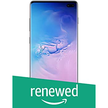(Renewed) Samsung Galaxy S10 Plus (Blue, 8GB RAM, 128GB Storage) with No Cost EMI/Additional Exchange Offers