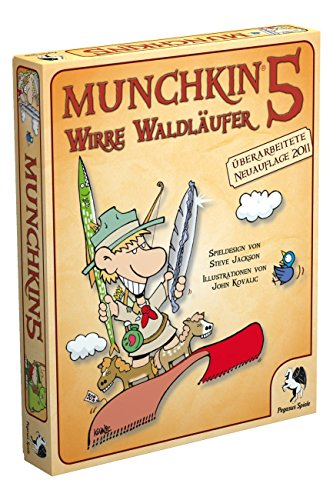 Pegasus Spiele 17215G - De-Ranged, 5° espansione di Munchkin [Lingua Tedesca]