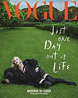 Vogue Italia Magazine (August 2018) Madonna in Lisbon Just One Day Out of Life Cover