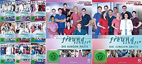 In aller Freundschaft - Die jungen Ärzte - Staffel 1.1 - 6.1 (Folgen 1-231) im Set - Deutsche Originalware [77 DVDs]