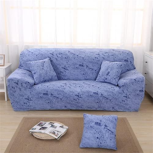 Funda de sofá elástica Universal para Sala de Estar, Funda de sofá elástica, Funda de sillón, Funda de Muebles, decoración elástica A7, 2 plazas