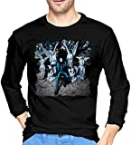 Aidyasd Jack White Lazaretto Men's Long Sleeve Tshirt Black,Black,Medium