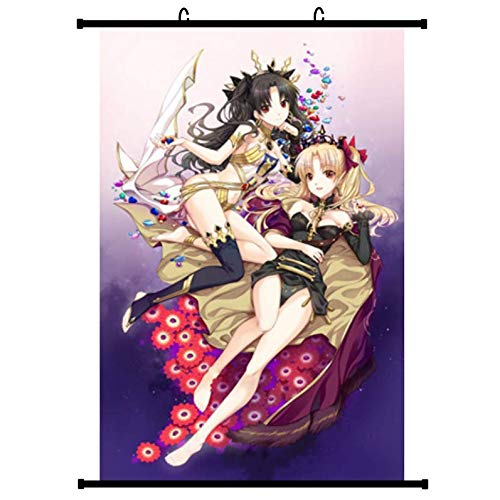 Otaku-Base.de® Fate Anime Wallscroll Poster (Vers. A), 60x90 cm Canvas Kakemono Wall Scroll Merch
