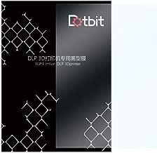 CHPOWER FEP Film Sheet, High Transmittance Strength for UV 3D Printer Wanhao D7 DLP Photon LCD SLA Resin, 200x 140mm Thickness 0.15mm- Pack of 5