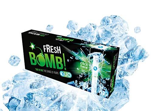 Mascotte vuoto sigaretta tubi Fresh Bomb Menthol Tubes Duo