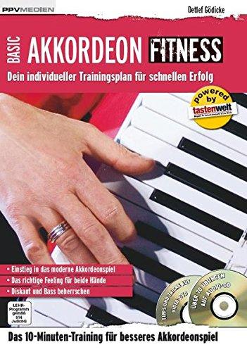 Akkordeon Fitness: Dein individueller Trainingsplan für schnellen Erfolg (Fitnessreihe)