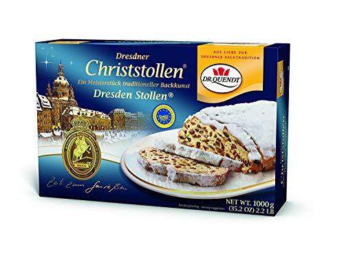 Dr Quendt Echter Dresdner Christstollen Ostprodukt 1000g