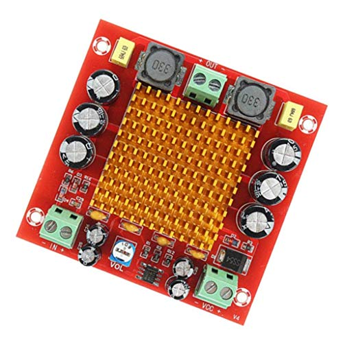 YELLAYBY Tablero del Amplificador XH-M544 TPA3116DA Digital Moudle DC Amplificador