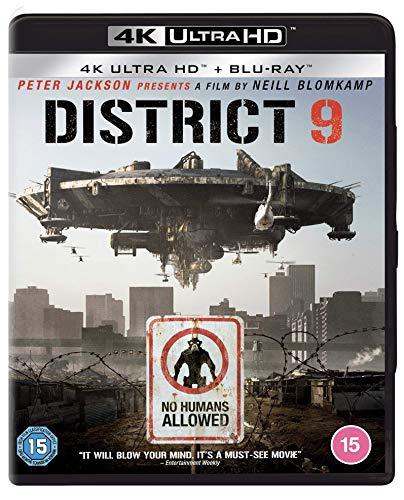 District 9 (2 Discs - UHD & BD) [Blu-ray] [2020]