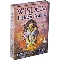 隠された領域の知恵フル英語版タロットデッキEGuideブック付き指導カードゲーム占いゲームは運命予測ゲームカードを設定します