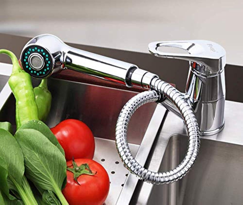 SLTYSCF wasserhahn Moderne Stil Küchenarmatur Kalt-und Warmwasser Mischbatterie Torneira Einhand Stretch Auslaufrohr