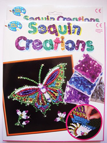 A to Z Sequin Creations (Butterflies) - Create Beautiful Patterns