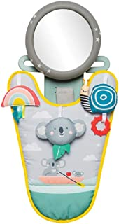 Taf Toys Koala in-Car Play Center | Parent and Baby's Travel Companion, Keeps Both Relaxed While Driving. Car Activity Center with Mirror to Watch Baby from Driver's Seat, for 0 Months and up