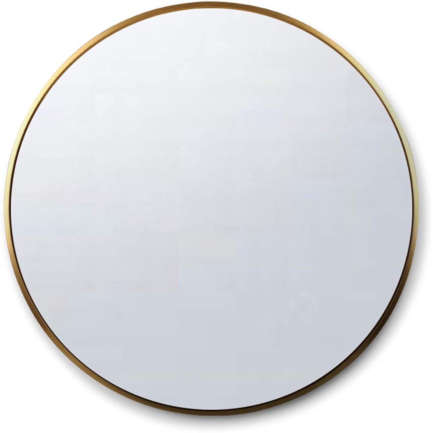 Makeup Mirror for Wall with Metal Frame(gold) 30CM Round Vanity Mirror Shave Shower Decorative Mirror for Bathroom Entry Dining Room Living Room and More