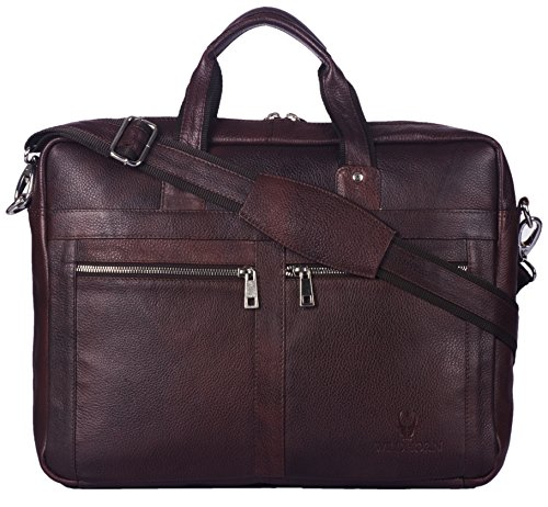 Leather Laptop Messenger Bag for Men