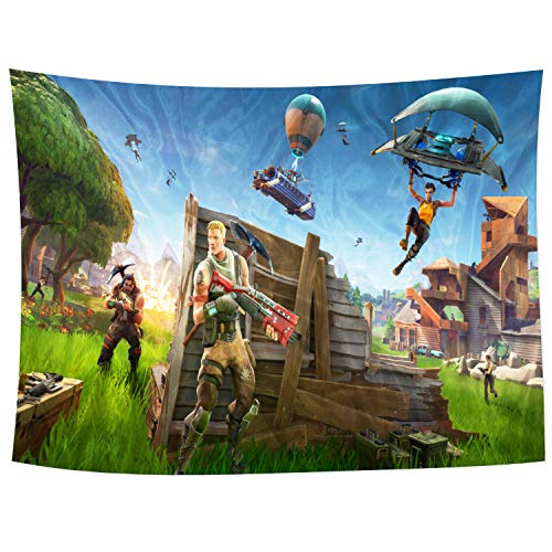 Clint Mathis Cool Pictures of Video Game Tapestry Wall Hanging for Living Room Bedroom Dorm Room Decor 59x70 Inch (150x180cm)