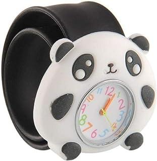 Orologio Bambino ZWRY Cartoon Kids Watches Orologio da polso al quarzo con animali colorati per bambini Orologio da polso ...