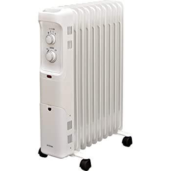 アイリスオーヤマ オイルヒーター ホワイト POH-1210KS-W