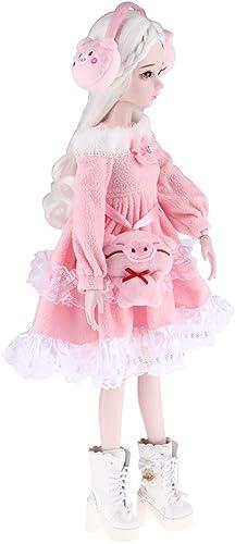 B Blesiya 6cm   Sch  Prinzessin Puppe mädchen Puppen Modell Spielzeug, Kinder Rollenspielzeug Geburtstagsgeschenk