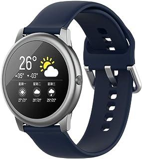 22mm smart watch vervangende bandjes band voor xiaomi Haylou solar LS05, snelsluiting siliconen verstelbare sportband voor...