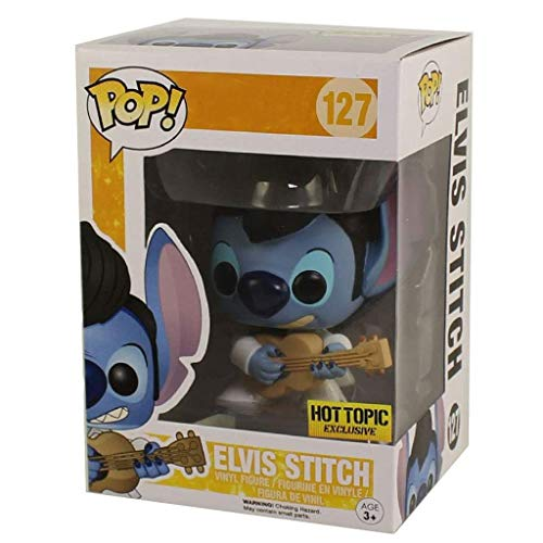 KYYT Funko Lilo & Stitch #127 Elvis Stitch Pop! Chibi