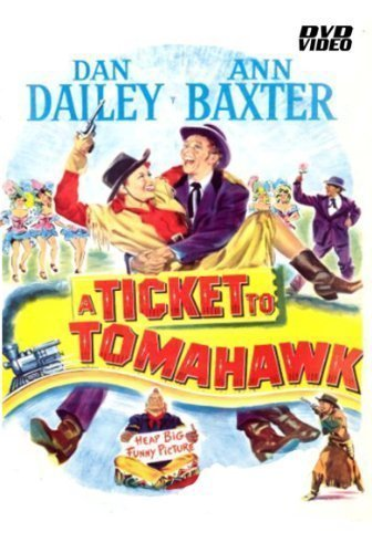 A Ticket 5% OFF To Tomahawk-DVD-Starring Dan and Baxter Dailey Factory outlet Ann