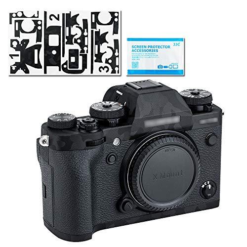 Pellicola protettiva per fotocamera Fujifilm X-T3 DSLR, adesivo antigraffio, motivo mimetico, colore: nero