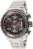 Invicta 17204 Aviator Reloj para Hombre acero inoxidable Cuarzo Esfera gris