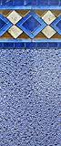 Smartline Mosaic Diamond 12-Foot-by-24-Foot Oval Pool Liner | UniBead Style | 52-Inch Wall Height | 25 Gauge Virgin Vinyl | Heavy-Duty Material | Designed for Steel Sided Above-Ground Swimming Pools