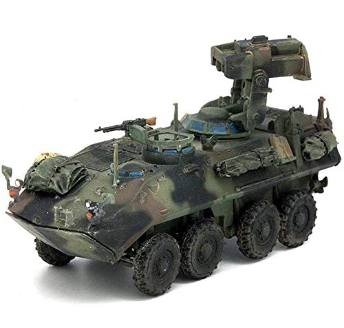Yxxc Lernspielzeug-Kit Modell im Maßstab 1:72 aus Kunststoff, LAV-at-Panzerabwehrraketen-Startfahrzeug USMC, Militärspielzeug und -Geschenke, 3,5 Zoll x 1,4 Zoll
