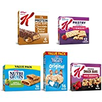 56-Count Kellogg's Bulk Snacks Variety Pack, Stock Your Pantry with 5 Delicious Flavors