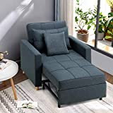Esright Convertible Chair Bed 3-in-1, Sleeper Chair Bed,...