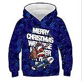 3D Navidad sudadera con capucha niños niña bebé niño ropa feliz año nuevo impresión bebé...