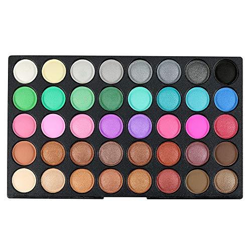 Athemeet Mate De 120 Colores, a Prueba De Agua En Polvo Pigmentado Natural Cosmética Profesional Set