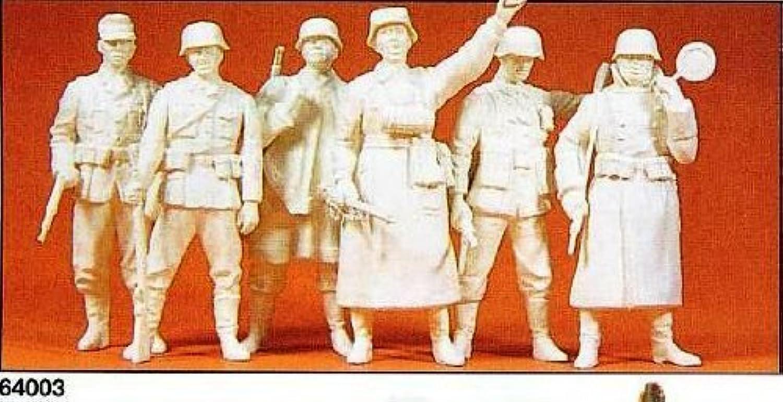 1 35 Scale German Guard Unpainted 6  by Preiser