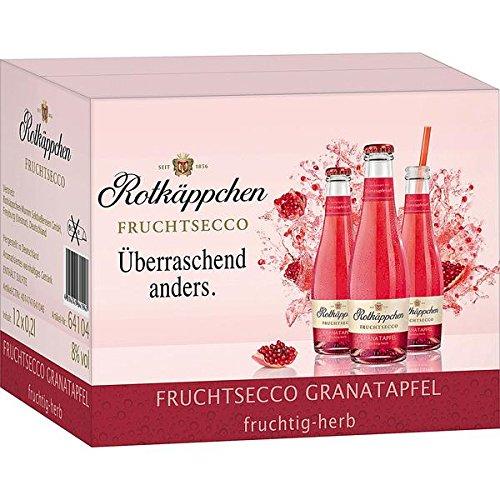 12 Flaschen Rotkäppchen Fruchtsecco Granatapfel a 200ml Piccolo