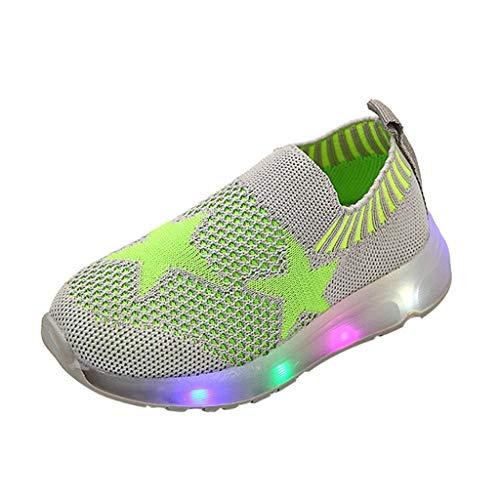 Kinlene Enfants Chaussures Blanches LED Clignotant Chaussures éClairage Chaussures Baskets Bottes Courtes Enfants BéBé BéBé Filles Crystal Bowknot Bottes Lumineuses Chaussures De Sport Baskets