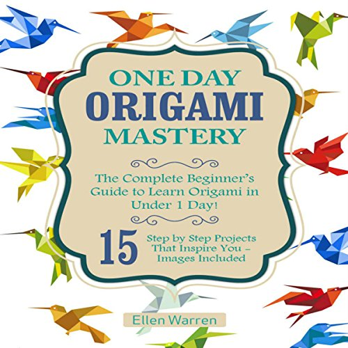 One Day Origami Mastery audiobook cover art