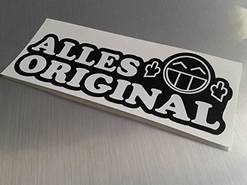 folien-zentrum Alles Original Shocker Hand Auto Aufkleber JDM Tuning OEM Dub Decal Stickerbomb Bombing Fun w