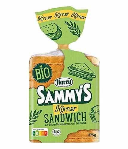 Harry Sammy's Naturbelassenes Körner Sandwich, 10 Packungen a 375 g