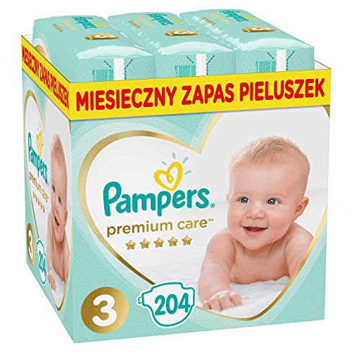 Pampers Premium Monthly Box S3 204 pcs