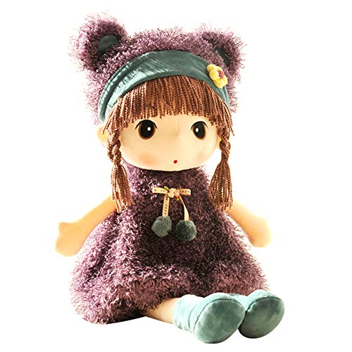 Ysimee Stoffpuppe Fee Puppe 45cm, Fee Plüschpuppe, Super Plüschtier Niedliches Märchen Prinzessin Puppe Plüschtier Kindergeschenk für Mädchen
