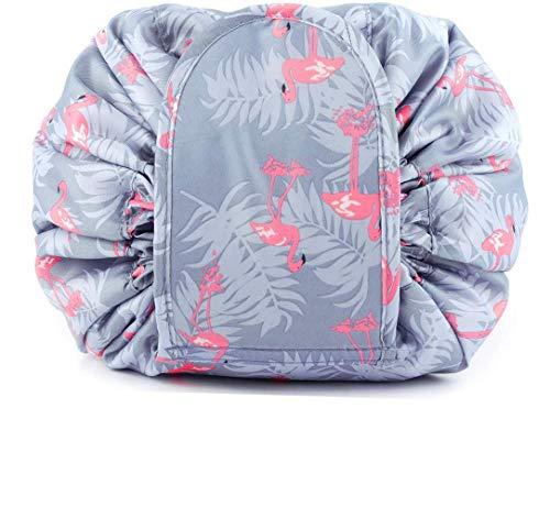 Sac cosmétique, sac de voyage portable à cordon de serrage pour femme