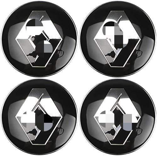 4 Stück Auto Wheel Center Caps Emblem, Felgennabe Center Caps Badge Alloy Center Cover Reifenmodellierung...