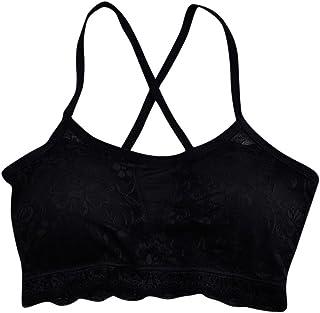 d3f870d1e4b0e Easytoy Sexy Women Lace Bra Underwear Nightwear Bra Padded Sleepwear