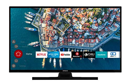 HITACHI F39E4100 99 cm (39 Zoll) Fernseher (Full HD, Smart TV, Prime Video, Works with Alexa, Bluetooth, Triple-Tuner, PVR-ready)