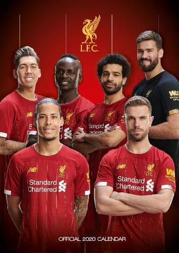 Liverpool FC 2020 Calendar - Official A3 Wall Format Calenda